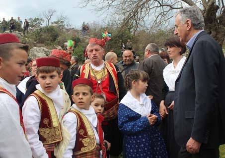 """Uskrs u Primorju"""" koji se na Mali Uskrs održala u primorskom selu"""