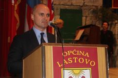 Zamjenik župana na Danu Općine Lastovo