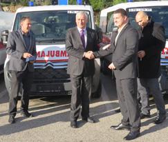 Župan uručio ključeve pet vozila vrijednih 1,42 milijuna kuna