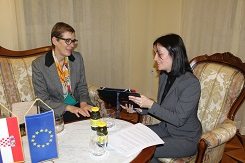 Zamjenica župana Marija Vučković promila nizozemsku veleposlanicu Ellen Berends