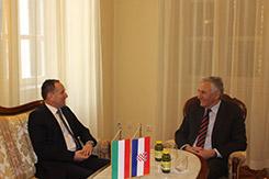 Mađarski veleposlanik u nastupnom posjetu Županiji