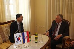 Veleposlanik Republike Koreje u nastupnom posjetu Županiji