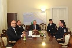 Župan Nikola Dobroslavić primio dobitnike priznanja za zasluge u razvoju vatrogastva i gašenje požara na području Dubrovačko-neretvanske županije
