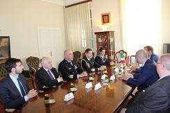 Izaslanstvo Ratne mornarice Talijanske Republike u posjetu Dubrovačko-neretvanskoj županiji